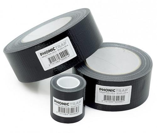 adhésif toilé isolation phonique PhonicTrap®